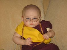 The Dalai Lama | 22 Amazing Kids' Halloween Costumes That They're Too Young To Understand