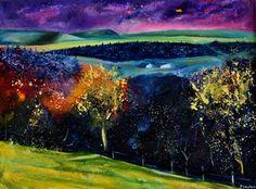 "Saatchi Art Artist Pol Ledent; Painting, ""Spring 68"" #art"