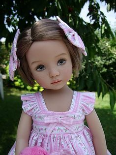 """Dianna Effner's 13"""" Little Darling doll painted by?"""