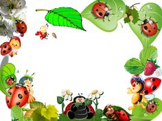 рамки детские - Hľadať Googlom Garden Theme Classroom, Picture Borders, Disney Frames, Boarders And Frames, Baby Ladybug, Baby Posters, Baby Frame, Frame Background, First Birthday Photos