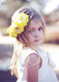 Flower girl hair piece!