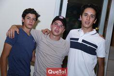 Reu en casa de Mau Martín Alba  - Marcelo, Juan Pablo y Juan Pablo.