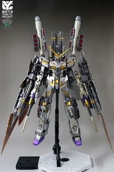 MG Full Armor Unicorn Gundam Ver.Metallic. Work by javakan. Full Photoreview No.41 Big or Wallpaper Size Images