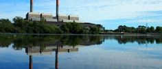 Huntly power station in Waikato province is seen March 30, 2016