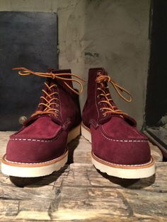 """Redwing Shoes Mohave Leather 6"""" Moc toe 8816"""