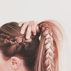 Coachella Braid Inspiration Ideen - Coachella Braid Tipps und Tricks, - All About Hair Party Hairstyles For Long Hair, Pretty Hairstyles, Easy Hairstyles, Medium Hairstyles, Ladies Hairstyles, Dutch Braided Hairstyles, Hairstyles For Women Long, Dreadlock Hairstyles, Spring Hairstyles