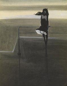 Léon Spilliaert (1881-1946) was a Belgian symbolist painter and graphic artist.