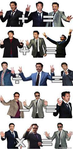 Iron mathematics man.
