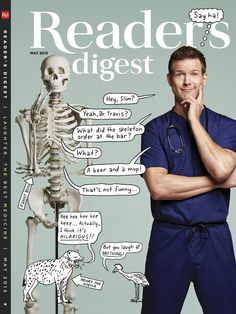 Reader's Digest May 2015 - Photo by Robert Trachtenberg