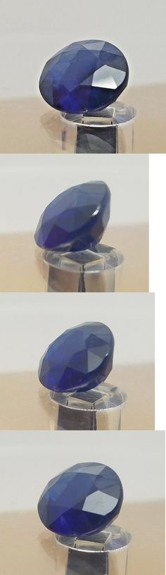 Natural Sapphires 4644: 6.89Ct Natural Royal Blue Oval Cut Natural Unheated Sapphire 11.6X11.2Mm Deal! BUY IT NOW ONLY: $52.99