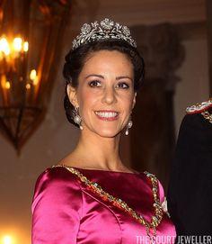 Princess Dagmar's floral tiara