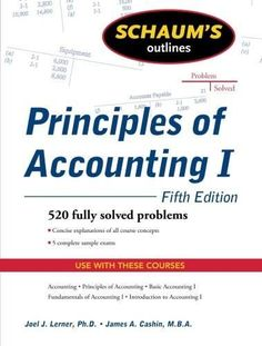 Download intermediate accounting for dummies ebook free by maire schaums outline of principles of accounting i fifth edition schaums malvernweather Choice Image