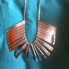 New silver and gold hanging chain ... Hanging chain sliver and gold color mix nwot Jewelry