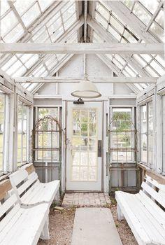 gorgeous glass house