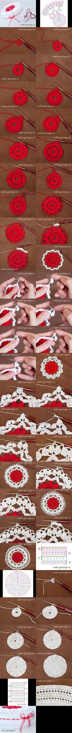 Joyería Crochet DIY DIY Tazón ganchillo Joyería Bowl diyforever