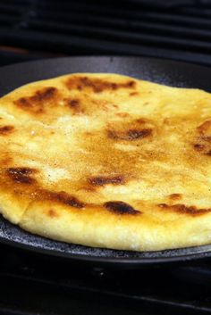 NYT Cooking: The Berbers use an unusual leavening method that gives a warm, earthy aroma to the loaves: a mix of semolina flour, water and garlic cloves th Skillet Bread, Skillet Meals, Skillet Recipes, Skillet Chicken, Lemon Recipes, Bread Recipes, Flour Recipes, Healthy Recipes, Empanadas