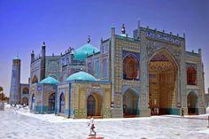 Blue Mosque at Mazar e Sharif,Herat, Afghanistan