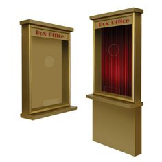 Home Theater Ticket Booth Box Office Standard