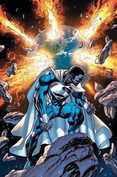 Superman Earth 23 | Capa de EARTH-2 #25: Val-Zod paramentado como o novo Superman da Terra ...