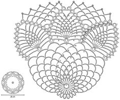 Crochet Art: Crochet Pattern Of Nice Doily