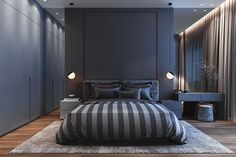 50 deluxe Bedroom Design some ideas you actually want for your Dream Residence Design # Modern Luxury Bedroom, Luxury Bedroom Design, Bedroom Closet Design, Home Room Design, Bedroom Furniture Design, Master Bedroom Design, Luxurious Bedrooms, Home Decor Bedroom, Living Room Designs