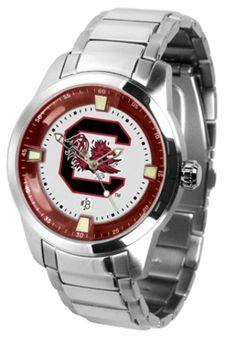 South Carolina Gamecocks Titan Steel Watch