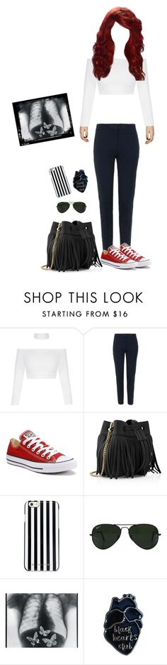 """Butterflies"" by ac-awesome ❤ liked on Polyvore featuring Topshop, Converse, Whistles, MICHAEL Michael Kors and Ray-Ban"