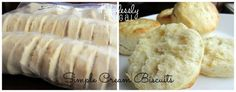 Make simple cream biscuits now and freeze them for later!