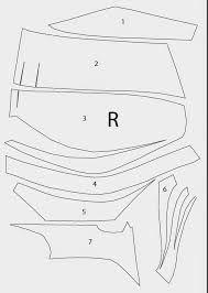 batman foam armor template - Google Search