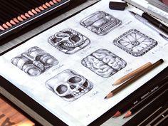App Icon Sketches  by Loggia