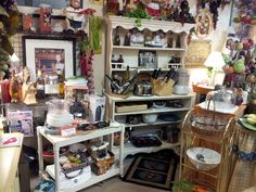 thrift store display ideas   Cookbooks, dishes, cooking utensils…