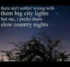 Slow country nights