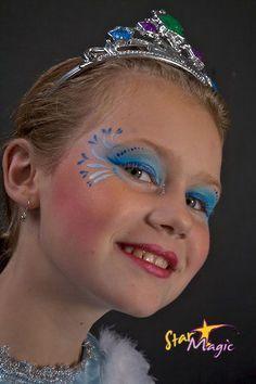 Afbeeldingsresultaat voor prinses schminken makkelijk