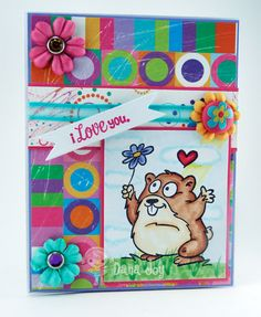 Poppy the Ground Hog - Your Next Stamp: YNS Tasty Tuesday Challenge! Join in the FUN!