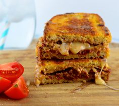 See how delicious GO VEGGIE cheese alternatives can be with our Walnut, Sun Dried Tomato & Basil Grilled Cheese Sandwich. Find cheesy bliss with GO VEGGIE. The Healthier Way to Love Cheese™. Vegan Grilling, Grilling Recipes, Go Veggie Cheese, Grill Cheese Sandwich Recipes, Vegan Sandwiches, Cheese Alternatives, Vegan Cream Cheese, Cheesy Recipes, Base Foods