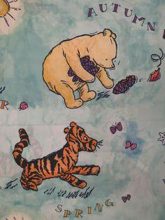 Classic Winnie the Pooh Shower curtain