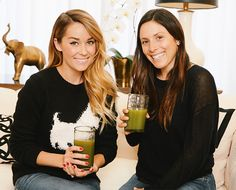 Meet our December Guest Editors: Lauren Conrad and Hannah Skvarla of The Little Market - The Chalkboard