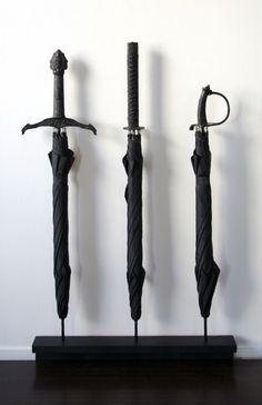 sword umbrellas