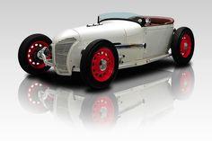 1928 Ford Speedster White