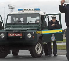 Force protection - RAF Police Officer