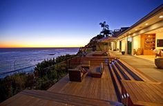 Oceanfront Luxury Home for sale, Encinal Bluff, along the Pacific Coast Highway in Malibu, California