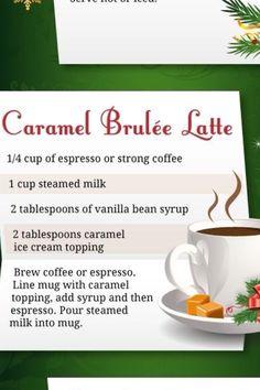 Caramel brûlée latte