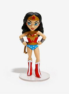 Funko Rock Candy DC Comics Wonder Woman Vinyl Figure,