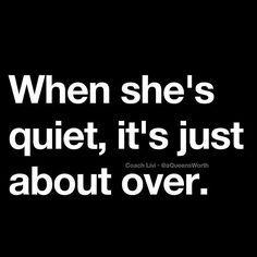 It's over..