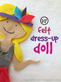 Felt Doll to dress up!