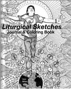 Liturgical Sketches Journal & Coloring Book