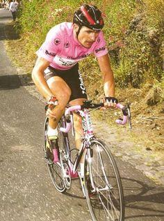 Gianni Bugno, Chateau d'Ax Moser 1990, Maglia Rosa.: