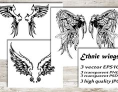 """Check out new work on my @Behance portfolio: """"Ethnic wings"""" http://be.net/gallery/55012241/Ethnic-wings"""