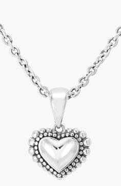 LAGOS Heart Pendant Necklace available at #Nordstrom