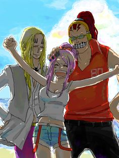 One Piece, Scratchmen Apoo, Hawkins, Jewelry Bonney